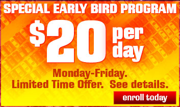 Early Bird Discount Parking
