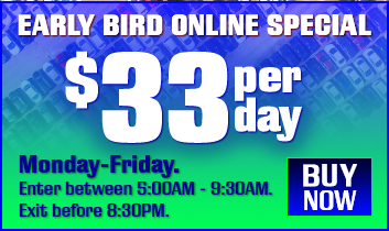 Early Bird Parking Special
