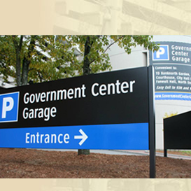 Government Center Garage Entrance