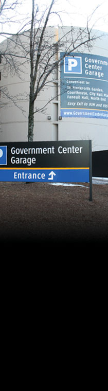 Government Center Garage Exterior
