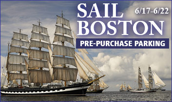 Prepurchase parking for Sail Boston